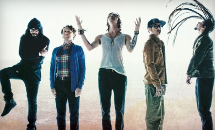 Live Nation: Incubus at Verizon Wireless Amphitheater on Sat., Oct. 15 at 8PM: Lawn Seating - Incubus in Irvine
