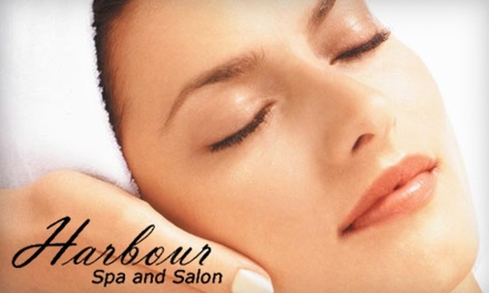 Harbour Spa & Salon - Fall Creek Harbour: $45 for a Mani-Pedi ($90 Value) or $40 for a 60-Minute Massage ($80 Value) at Harbour Spa & Salon