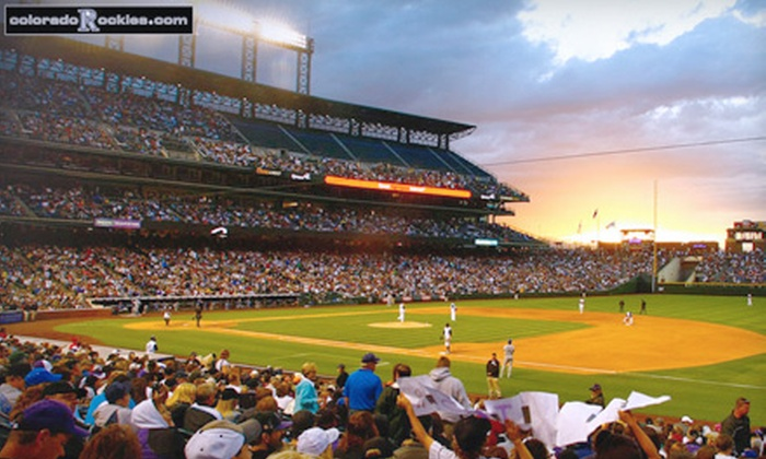 Colorado Rockies - Five Points: One Ticket to a Colorado Rockies Game. Four Games and Two Seating Options Available.