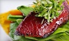 The Red Crane - Calabazas North,Monta Vista,West San Jose: $15 for $30 Worth of Contemporary Asian Fare at The Red Crane in Cupertino