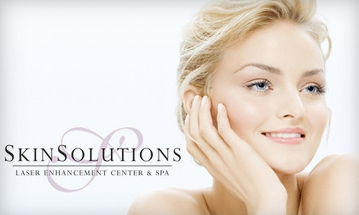 Skin Solutions Laser Enhancement Center & Spa - Clive: $70 for a Diamond Microdermabrasion, LED Rejuvenation, and Skin Consultation at Skin Solutions Laser Enhancement Center & Spa ($500 Value)