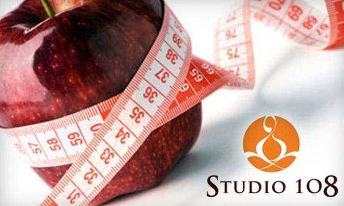 Studio 108 - Woodward Park: $30 for a Nutrition Consultation & IatroFitness Assessment at Studio 108 ($60 Value)