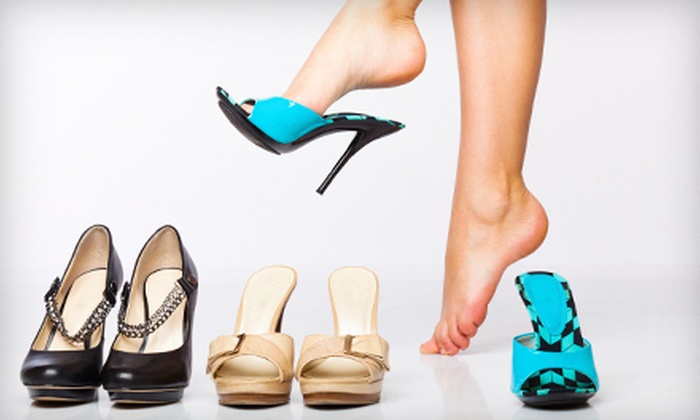 Dickson's Old Cobbler Shoe Repair - Multiple Locations: Heel Repair for One Pair of Men's or Women's Shoes or $12 for $25 Worth of Footwear at Dickson's Old Cobbler Shoe Repair
