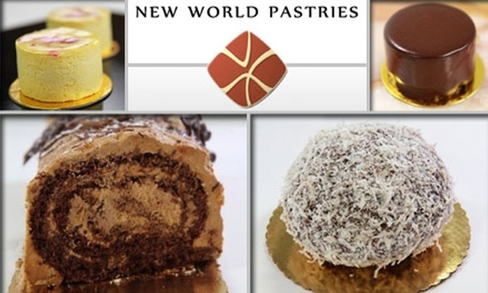 New World Pastries - Irving Park: $30 for a 10-Inch Gourmet Cake from New World Pastries