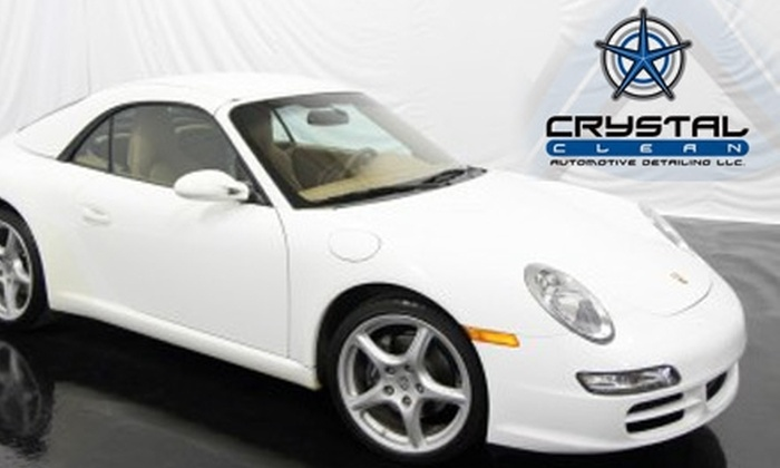 Crystal Clean Auto Detailing - Wyoming: $79 for Express Interior Detailing and Exterior Hand Wash at Crystal Clean Auto Detailing (Up to $207.98 Value)