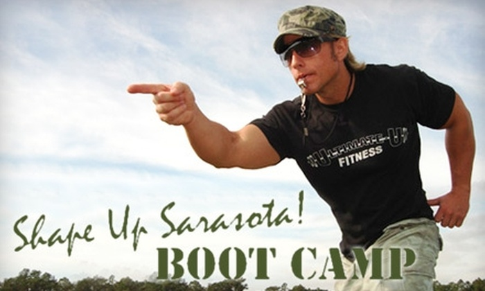 Shape Up Sarasota - Multiple Locations: $49 for One Month of Unlimited Boot-Camp Classes at Shape Up Sarasota ($189 Value)