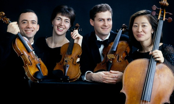 Bretano String Quartet - Danville: Two Tickets to the Brentano String Quartet at Norton Center for the Arts in Danville on April 5 (Up to 59% Off). Three Options Available.
