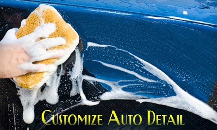 Customize Auto Detail - Huntsville: $10 for a Basic Hand Car Wash at Customize Auto Detail ($20 Value)