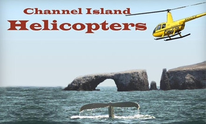 Channel Islands Helicopters - Sea Air: $187 for a Three-Person Whale and Surf Tour and Champagne Package from Channel Islands Helicopters in Oxnard