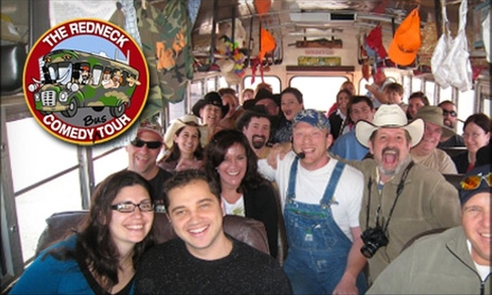 Redneck Comedy Bus Tour - Multiple Locations: $16 for One Ticket to the Redneck Comedy Bus Tour (Up to $32 Value)