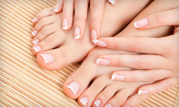 Kailonie's Salon and Spa - Pleasant Hill: $40 for a Shellac Manicure and a Spa Pedicure at Kailonie's Salon and Spa in Pleasant Hill ($80 Value)