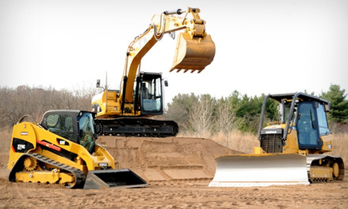 Extreme Sandbox - Hastings: Construction-Vehicle Driving Adventure for One or Up to Ten at Extreme Sandbox in Hastings (Half Off)