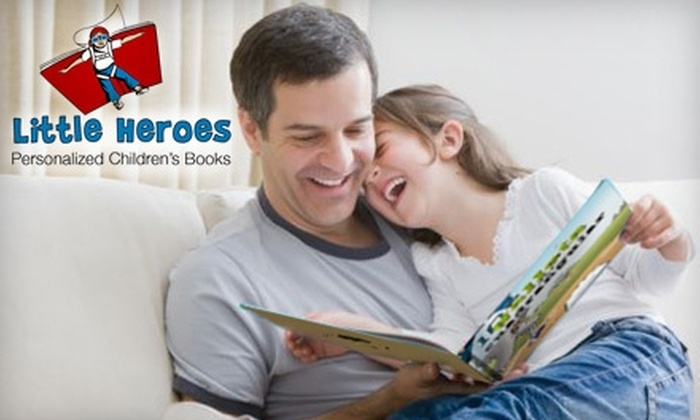 Little Heroes: $8 for $16.99 Toward a Personalized Children's Book from Little Heroes