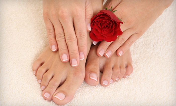 Nail Elite - Southlake: $25 for a Manicure and Pedicure at Nail Elite in Southlake ($50 Value)