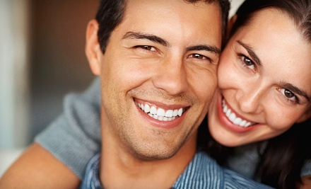 In-Office Teeth-Whitening Treatment with One Take-Home Chrome Whitening Pen (a $239.98 value) - Canadian Pearl Teeth Whitening in Langley