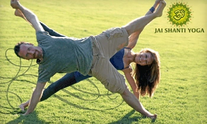 Jai Shanti Yoga - Candler Park: $35 for a Five-Class Card to Jai Shanti Yoga ($70 Value)