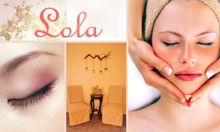 Lola - Northwest District: $50 for a Facial, Lip and Brow Waxing, and Scalp Massage at Lola ($124 Value)