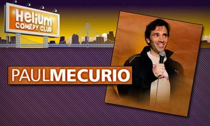 Helium Comedy Club - Center City West: $8 for One Ticket to See Paul Mercurio at Helium Comedy Club on Thursday, April 22, at 8 p.m.