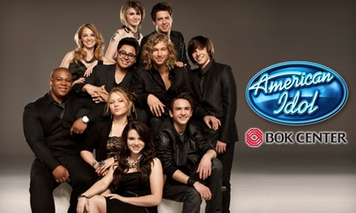 """""""American Idol"""" Live! Tour - Downtown Tulsa: Tickets to """"American Idol"""" Live! Tour. Three Seating Options Available."""