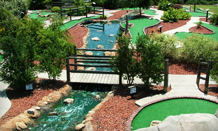 Leatherman Golf Learning Center - Yorkmount: Round of Mini Golf for Four or Punch Card for Five Buckets of Driving-Range Balls at Leatherman Golf Learning Center
