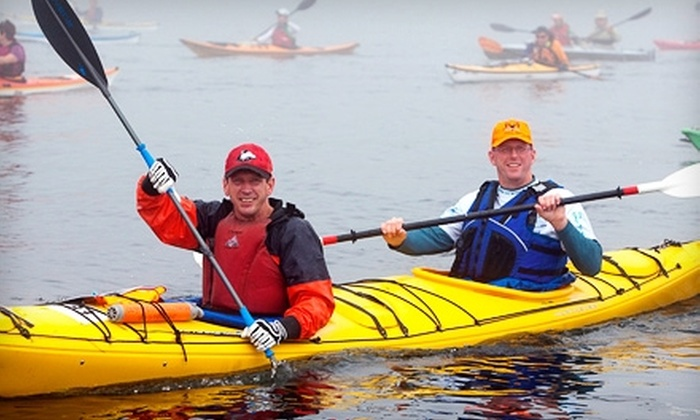 Olympic Outdoor Center - Poulsbo: $32 for Guided Wildlife Kayak Tour from Olympic Outdoor Center in Poulsbo ($64.07 Value)
