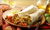 Louie's Grill Fusion Restaurant - Multiple Locations: $10 for $20 Worth of Mexican Fusion Fare and Drinks at Louie's Grill Fusion Restaurant