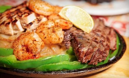 $35 Groupon for Dinner Sunday-Thursday  - Cinco Lagos in Milford