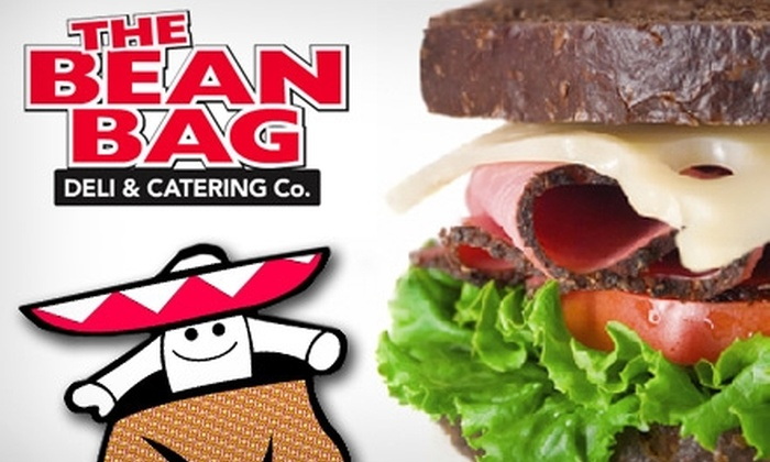 The Bean Bag - Rockville: $5 for $10 Worth of NY Deli Pleasantries and Blissful Coffee Drinks at The Bean Bag