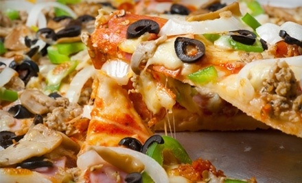 Greek's Pizzeria: Pizza Night For Two - Greek's Pizzeria in Indianapolis