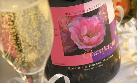 $50 Worth of Customized Wine Labels - Stoney Creek Wine Press in