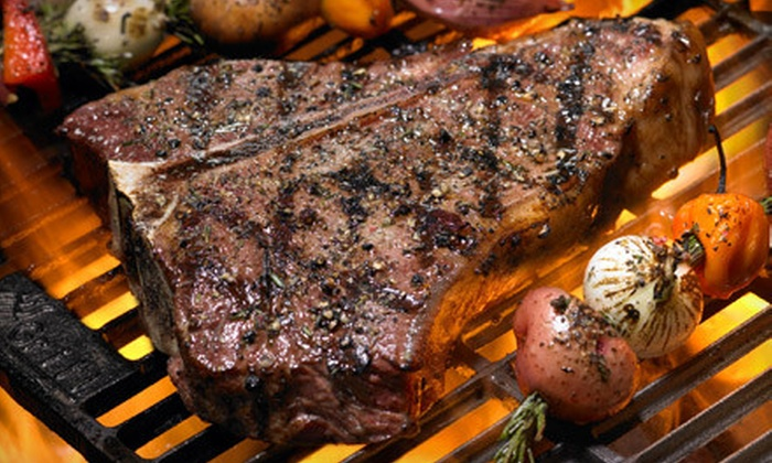 The Ranch Steak Company - Denham Springs: Gourmet Steak, Chicken, or Pork Packages From The Ranch Steak Company (Up to 62% Off). Four Options Available.