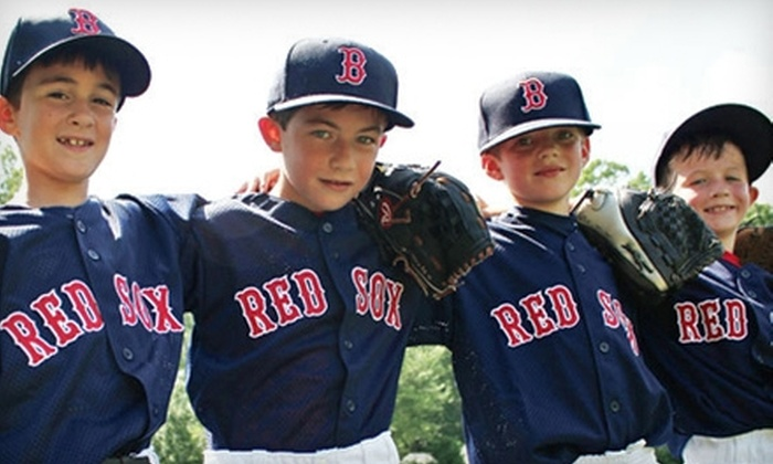 Boston Red Sox Summer Camp - Southborough: Youth Baseball Camp from Boston Red Sox Summer Camps in Southborough. Two Weeks Available.