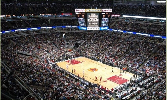 The United Center - Chicago: $22 tickets to see the Chicago Bulls