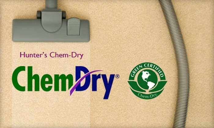 Hunter's Chem-Dry - San Antonio: $89 for $250 Worth of Carpet Cleaning, Upholstery Cleaning, and More from Hunter's Chem-Dry