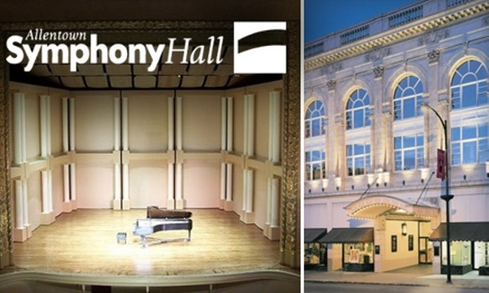 Allentown Symphony Hall - Allentown: $65 for a Three-Show Pass to Allentown Symphony Hall (Up to $135 value)