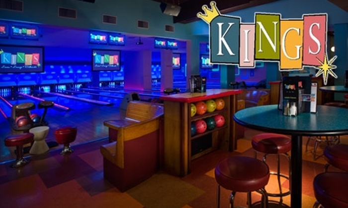 Kings - Multiple Locations: $10 for $20 Worth of Bowling, Billiards, and Shuffleboard at Kings. Choose between Two Locations.
