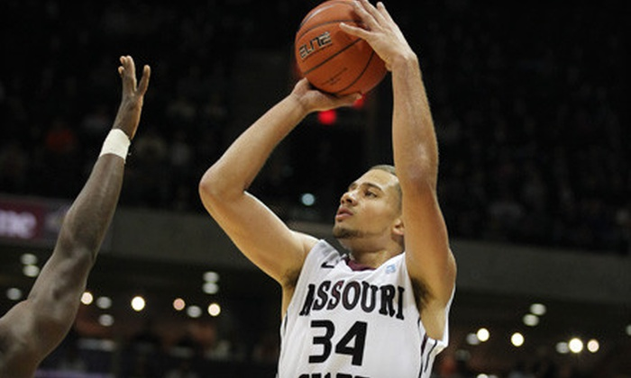 Missouri State Basketball - Springfield: Two or Four Tickets to Missouri State Men's or Women's Basketball at JQH Arena on January 4 or 5 (Up to 53% Off)