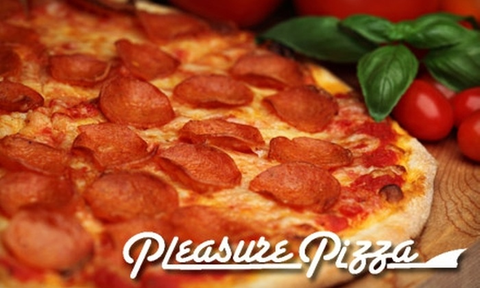 Pleasure Pizza - Santa Cruz: $10 for $20 Worth of Pies, Wings, and More, Plus a T-shirt, at Pleasure Pizza