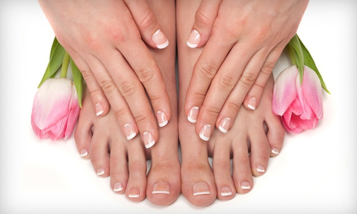 Polish Me Pink Salon and Day Spa - Memphis: Mani-Pedi, Shellac Manicure and Regular Pedicure, or a Spa-Day Package at Polish Me Pink Salon and Day Spa