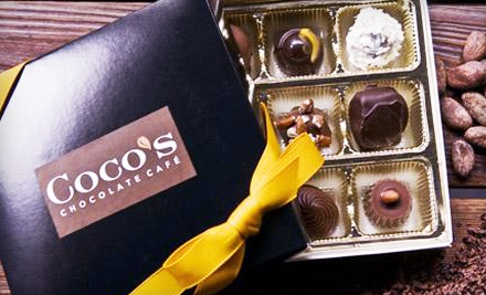 9 Piece Assortment Box of Chocolates (a $21 Value) - Cocos Chocolate Cafe in Louisville