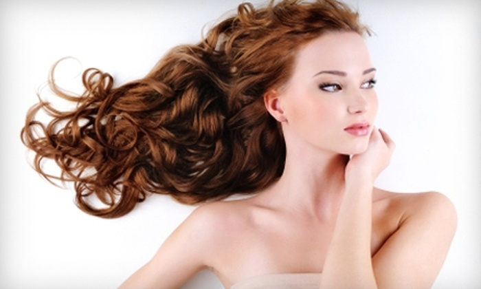 Bluestar Salon - Encinitas: $145 for a Chemical Straightening and Haircut at Bluestar Salon in Encinitas