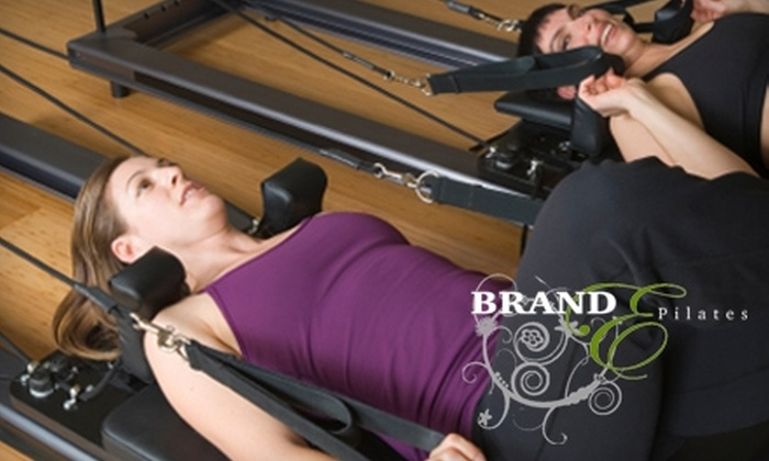 Brand E Pilates - Woodward Park: $29 for Four Pilates Sessions or $150 for One Month of Unlimited Sessions at Brand E Pilates (Up to $250 Value)