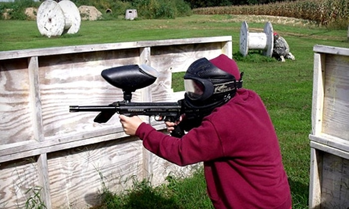 Sure Shot Paintball - East Drumore: $22 for an All-Day Paintball Pass to Sure Shot Paintball in Quarryville ($45 Value)