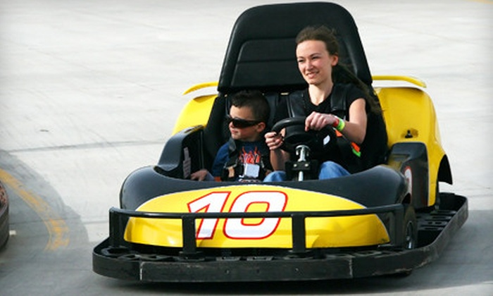 Gateway Park Fun Center - Boulder: $14 for a Family-Fun Package with Mini Golf and Go-Karts at Gateway Park Fun Center in Boulder (Up to $31.50 Value)
