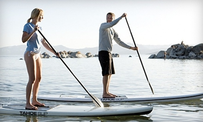 Pirate Coast Paddle Company - Newport Beach: $30 for Paddleboarding Lesson and Tour of Newport Harbor from Pirate Coast Paddle Company in Newport Beach ($60 Value)