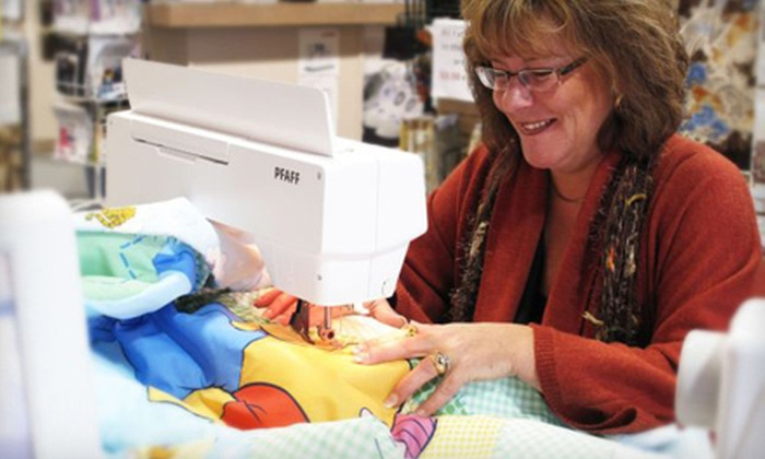 Linda's Quilt Shoppe - Multiple Locations: $20 for $40 Worth of Sewing Supplies or Classes at Linda's Quilt Shoppe. Two Locations Available.