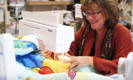 $40 Groupon to Linda's Quilt Shoppe - Linda's Quilt Shoppe in Kelowna