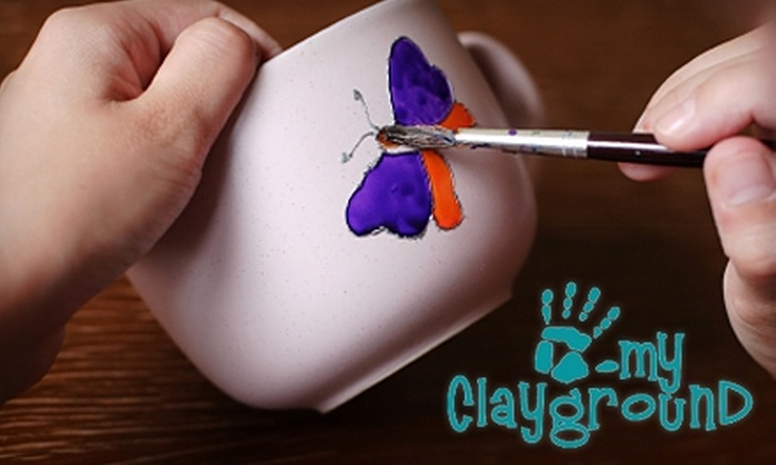 My Clayground - Atlanta: $12 for $25 Worth of Pottery Painting, Glass Fusing, and More at My Clayground in Roswell