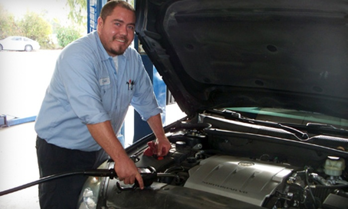 Seaside Autostar - Sorrento Valley: $25 for a Car-Care Package with Oil and Filter Change, Tire Rotation, Inspection, and Car Wash at Seaside Autostar ($55.30 Value)