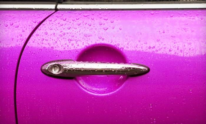 Indy Auto Spa - Multiple Locations: Auto Services at Indy Auto Spa. Four Options Available.